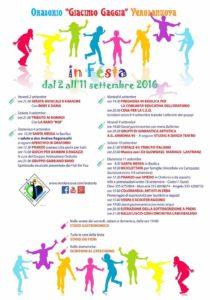 Festa oratorio 2016
